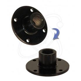22W0031 - Conex. eje estría plato para compresor Denso 6SEU