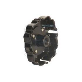 22W0043 - Plato con eje remachado para compresor Denso 6SEU - 7SEU