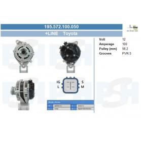 104210-3430+ - Toyota 100A