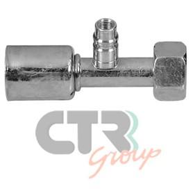 1222609 - RACORD H O.RING RECTO D8 CON CARGA
