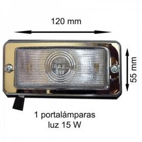 217 - PLAFON CRISTAL CON INTERRUPTOR