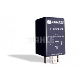 ITXS424 01064 - Intermitencia 24V con remolque. Con Detección 3 a 2 Aumento Pulsaciones.