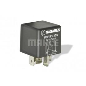 RDPS512R 02451 - Relé interruptor doble contacto 12V 2X20A con Resistencia