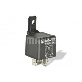 RDP512D 02968 - Relé interruptor 12V 2X20A doble contacto. Con Diodo