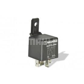 RDP524R 02190 - Relé interruptor 24V 2X10A doble contacto Con Resistencia