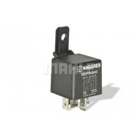 RDP524D 02188 - Relé interruptor 24V 2X10A doble contacto