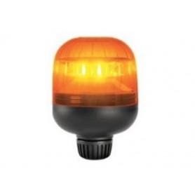 5946R.00 - LUZ ROTATIVA LED 12V/24V BASE RÍGIDA BARRA EFECTO DESTELLANTE