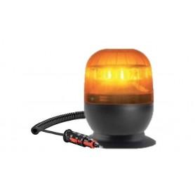 5954R.00 - LUZ ROTATIVA LED 12V/24V BASE MAGNÉTICA CON VENTOSA EFECTO DESTELLANTE