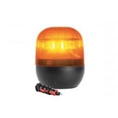 5955R.00 - DESTELLANTE AMBAR 6 LED 12/24V MAGNETICO - R65