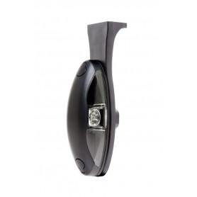 LP0102.00 - PILOTO LED POSICION SOPORTE ESCUADRA 10-30V INCOLORO/ROJO CABLE 1.000 MM