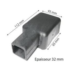 CAP35 - CAPUCHON PARA BS35 NEGRO -