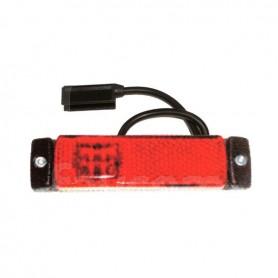 FA102032 - LUZ DE POSICIÓN ROJA LED 12/24V C/CABLE SNAP-IN
