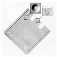 FA101187 - SOPORTE INOXIDABLE PORTA SEŃAL ADR 300 x 300mm