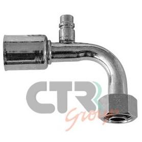 1222890 - RACORD G10 90º C.CARGA O.RING