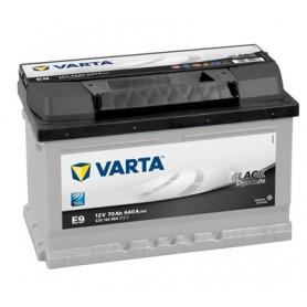 E9 - VARTA BLACK DYNAMIC 12V 70AH/640A +D 278X175X190