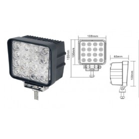 FT050 -FARO 16LEDS 3500 LUMENS 10-30V