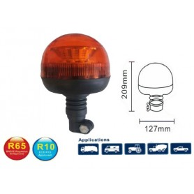 GF35S - ROTATIVO LED FLEXIBLE 12/24V R65 IP66