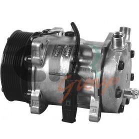 1201260 - COMPR. SANDEN SD7H15 MAN PV8 120mm 24v