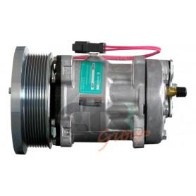 1201501 - COMPR. SANDEN SD7H15 CASE IH-CATERPILLAR PV8 133m