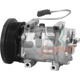 1201511 - COMPR. SANDEN SD7H15 CATERPILLAR PV8 133mm 24v