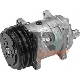 1201556 - COMPR. SANDEN SD5H14 ROTALOCK ORIZZ. 2A 132mm 12v