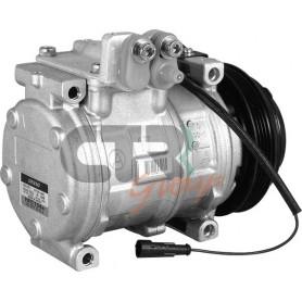 1201610 - COMPR. DENSO 10PA17C IVECO TRUCKS PV4 125mm 24v