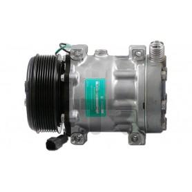 1201636 - COMPR. SANDEN SD7H15 LIEBHERR PV8 119mm 24v