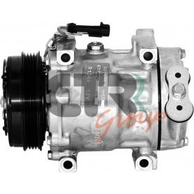 1201830 - COMPR. SANDEN SD7V16 FIAT-IVECO PV4 115mm 12v
