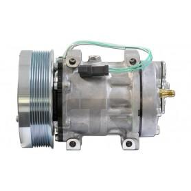 1201834 - COMPR. SANDEN SD7H15 CASE IH-CATERPILLAR PV8 153mm
