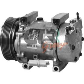 1201863 - COMPR. SANDEN SD6V12 CITROEN-PEUGEOT PV6 120mm 12
