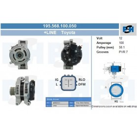 104210-4521+ - Toyota 100A