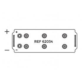 62034 - BATERIA 12V.140/850AH +IZQ.510X186X223