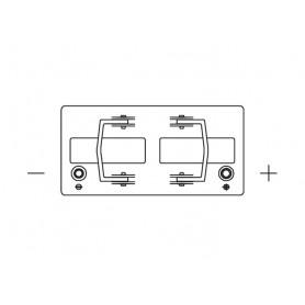 62511 - BATERIA 12V.125/825AH +DCH.343X172X290