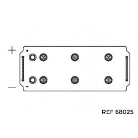 68025 - BATERIA 12V.180/1150AH +IZQ.513X223X223