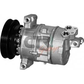 1201900 - COMPR. DENSO 5SL12C-T FIAT PV4 120mm 12v DCP09002