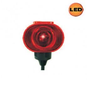 A212200014 - KIT PILOTO LATERAL LED AMBAR C/ CAJA ASPOCK