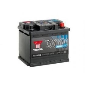 YBX9012 12V 50Ah 520A Yuasa AGM Start Stop Plus