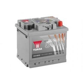 YBX5012 12V 52Ah 480A Yuasa Silver High Performance