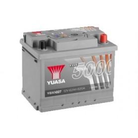 YBX5027 12V 62Ah 600A Yuasa Silver High Performance