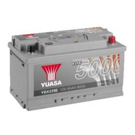 YBX5110 12V 85Ah 800A Yuasa Silver High Performance