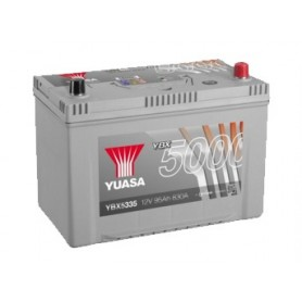 YBX5335 12V 95Ah 830A Yuasa Silver High Performance