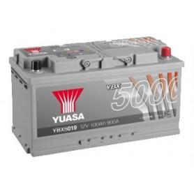 YBX5019 12V 100Ah 900A Yuasa Silver High Performance