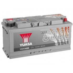 YBX5020 12V 110Ah 900A Yuasa Silver High Performance