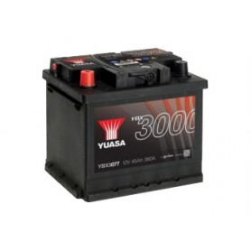 YBX3077 12V 45Ah 380A Yuasa SMF