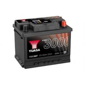 YBX3027 12V 60Ah 550A Yuasa SMF