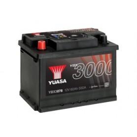 YBX3078 12V 60Ah 550A Yuasa SMF