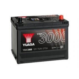 YBX3068 12V 70Ah 570A Yuasa SMF