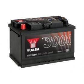 YBX3086 12V 75Ah 650A Yuasa SMF