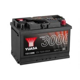 YBX3096 12V 75Ah 650A Yuasa SMF