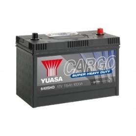 640SHD 12V 115Ah 1000A Yuasa Cargo Super Heavy Duty